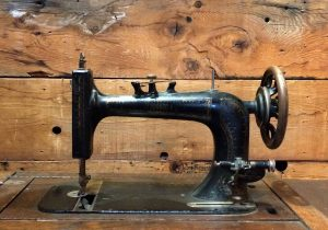 An old singer sewing machine